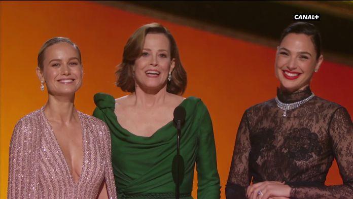 """Brie Larson, Sigourney Weaver, Gal Gadot: """"Toutes les femmes sont des super-héroïnes"""" - Oscars 2020"""