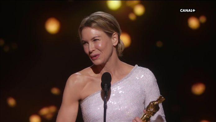 Renée Zellweger remporte l'Oscar de la Meilleure Actrice pour Judy - Oscars 2020