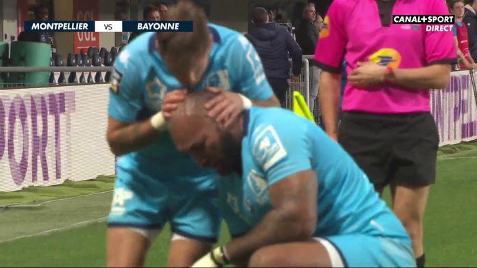 Le résumé de Montpellier / Bayonne : Top 14 - 15ème journée
