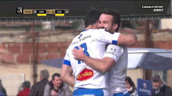 Agen / Castres : douche froide à Armandie pour la fin de match : Top 14 - 15e journée / Agen - Castres