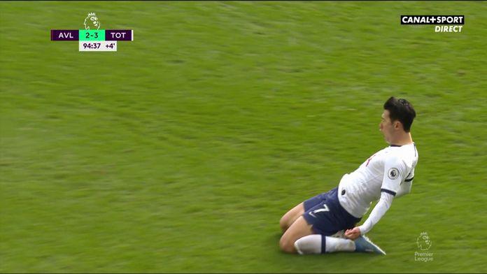 Son offre la victoire à Tottenham à la dernière seconde ! : Premier League