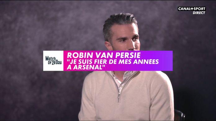 """Van Persie : """"Je suis fier de mes années à Arsenal"""" : Match Of Ze Day"""