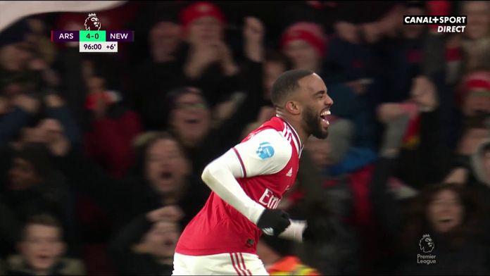 Arsenal / Newcastle : Lacazette marque enfin ! : Premier League - 26e journée