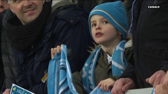 La joie des joueurs de l'OM ! : Lille / Marseille