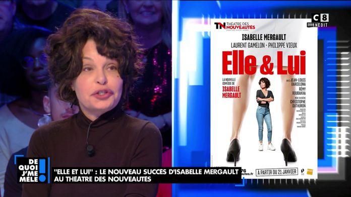 """Isabelle Mergault revient sur sa nouvelle pièce de théâtre """"Elle & Lui"""""""