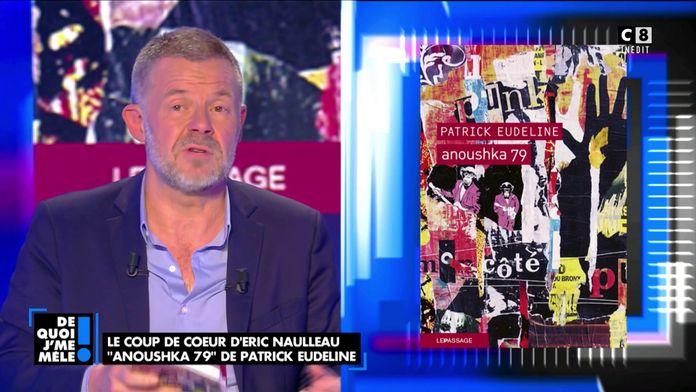 """Le coup de cœur d'Eric Naulleau """"Anoushka 79"""" de Patrick Eudeline"""