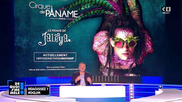 """""""Cirque de Paname"""" Un voyage spectaculaire dans """"Le monde de Jaleya"""""""