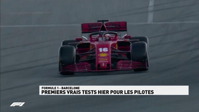 Essais hivernaux : premiers vrais tests pour les pilotes : Le meilleur de la Formule 1, seulement sur Canal+