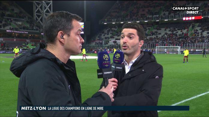 Les impressions de Vincent Hognon avant Metz / OL : Ligue 1 Conforama