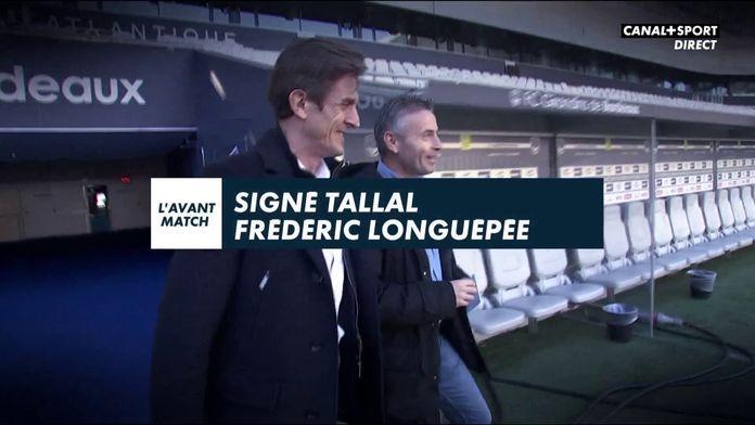 Signé Tallal avec Frédéric Longuépée (Girondins de Bordeaux) : Ligue 1 Conforama