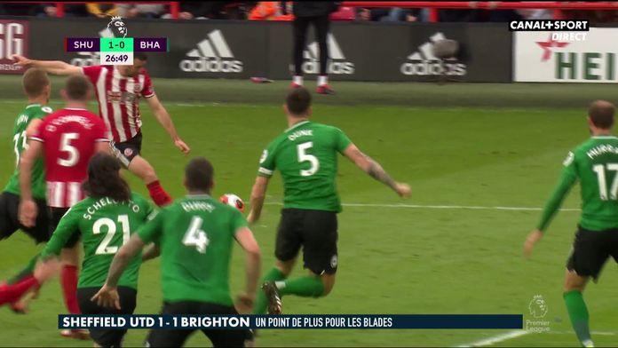 Le résumé de Sheffield United / Brighton : Premier League