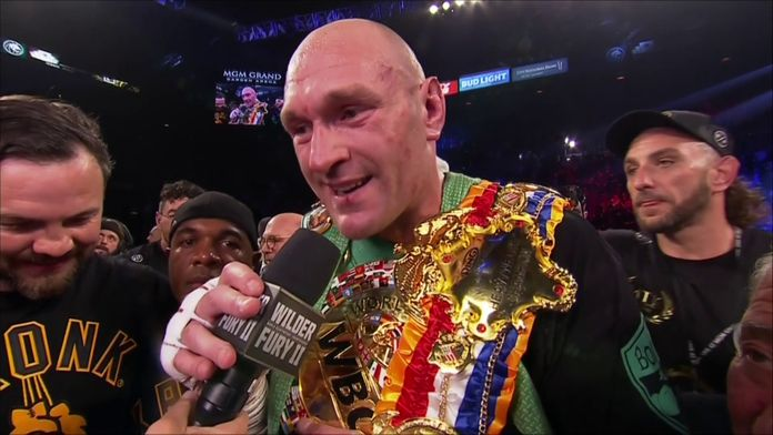 "Tyson Fury : ""Le Roi a retrouvé son trône !"" : Wilder VS Fury II"