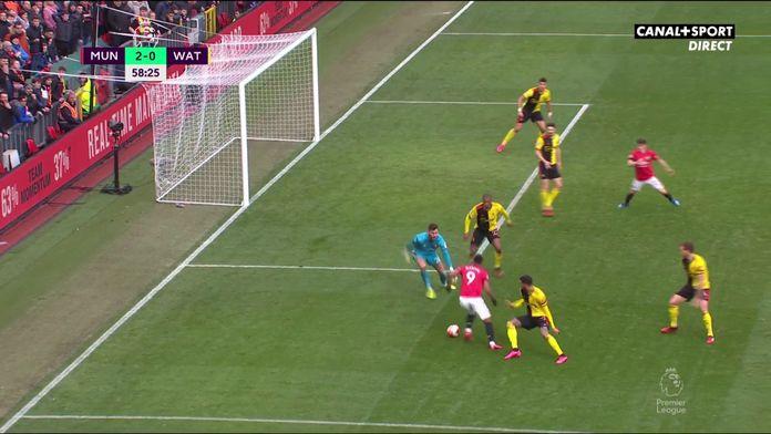 Manchester United / Watford - Le superbe enchaînement d'Anthony Martial : Premier League