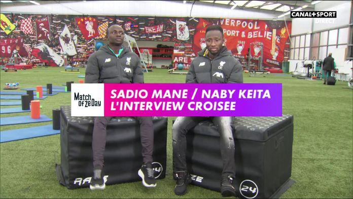 Sadio Mané / Naby Keïta - L'interview croisée : Premier League - Liverpool