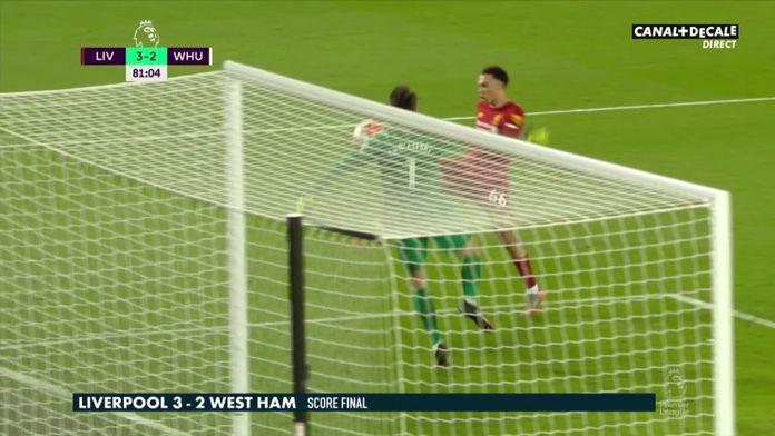 Le résumé de Liverpool / West Ham : Premier League
