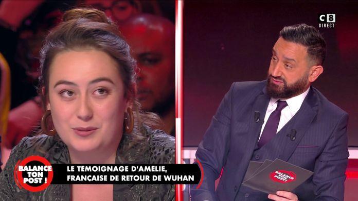 Amélie Chapalain, française rapatriée de Wuhan revient sur son retour en France