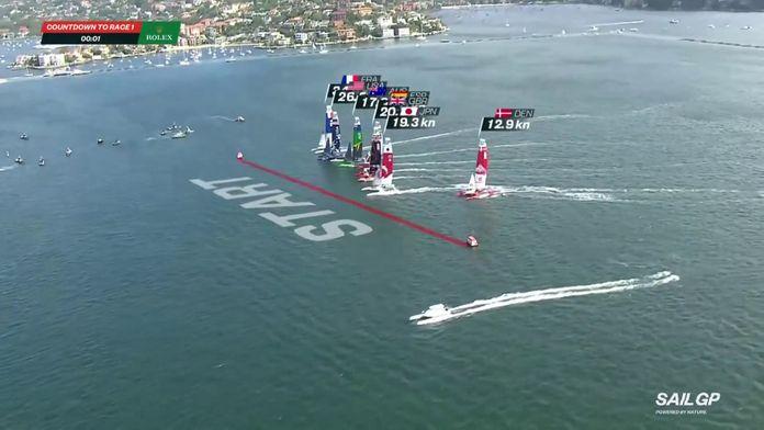 Race 1 - Le top départ des français : Sail GP