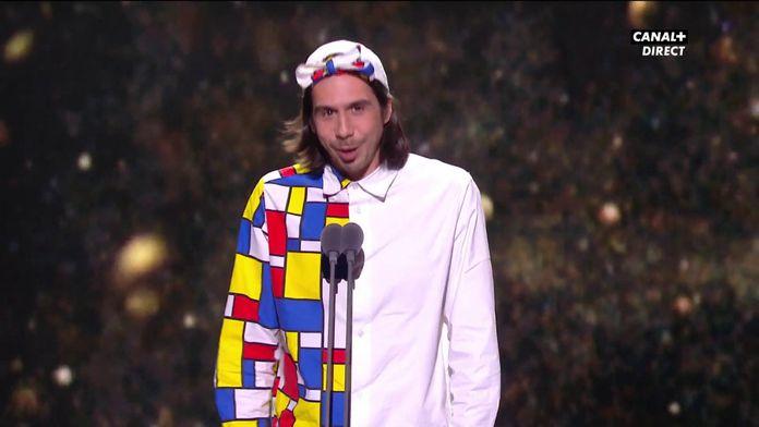 Esteban, du groupe Naive New Beaters remet le César de la Meilleure Musique Originale - César 2020