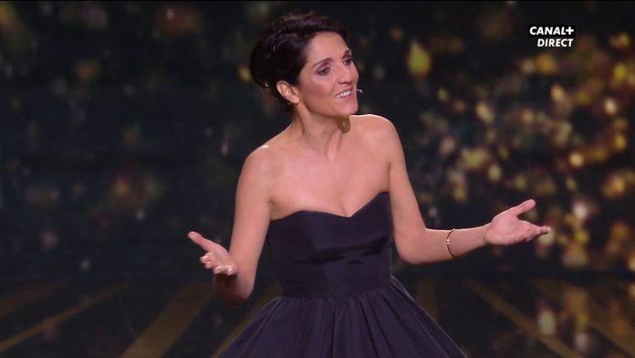 """Florence Foresti : """"Vous aurez plus de chances de nous choper avec un bout de pain"""" - César 2020"""