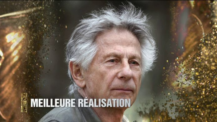 Roman Polanski reçoit le César de la Meilleure Réalisation pour J'accuse - César 2020
