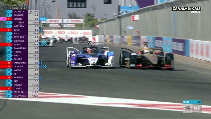 Jean-Éric Vergne prend la 2e place : GP de Marrakech