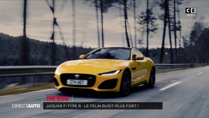 Zone Rouge : Jaguar F-Type R