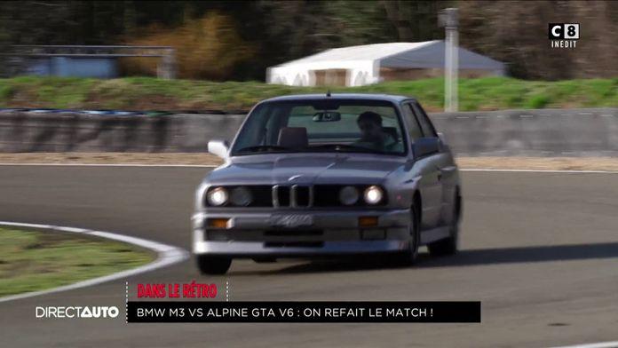 Dans le rétro : BMW M3 E30 vs Alpine GTA V6