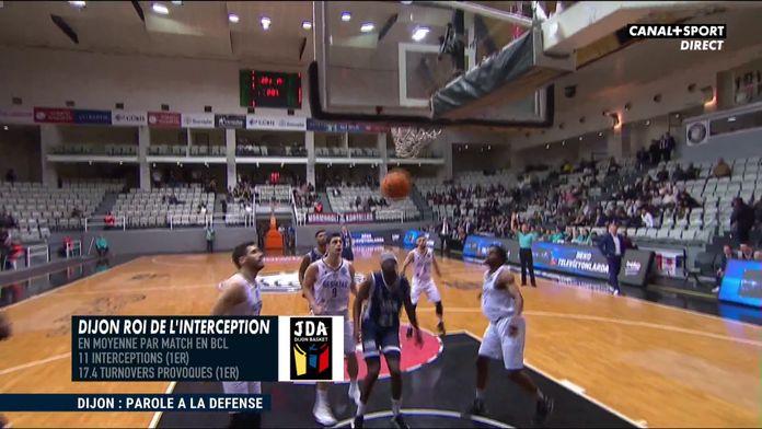 La défense : la marque de fabrique de la JDA Dijon : Basketball Champions League