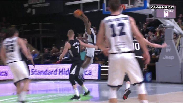 Solomon explose le cercle : Basketball Champions League