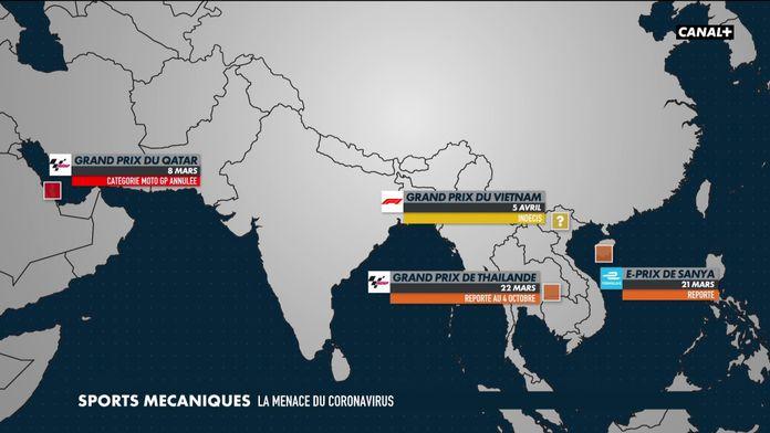 L'impact du coronavirus sur le sport mécanique : MotoGP