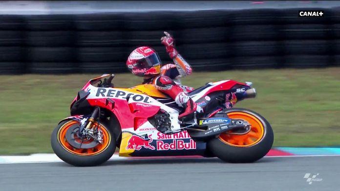 Marquez l'art du rebond : MotoGP