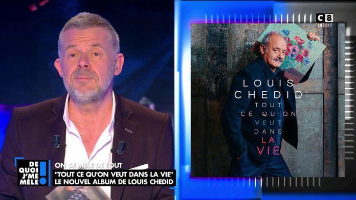 """Le nouvel album de Louis Chedid """"Tout ce qu'on veut dans la vie"""""""