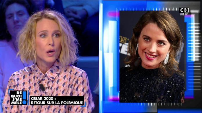"""Pascale Arbillot, très émue s'exprime sur l'affaire Polanski: """"Ce n'est que le reflet de la société"""""""