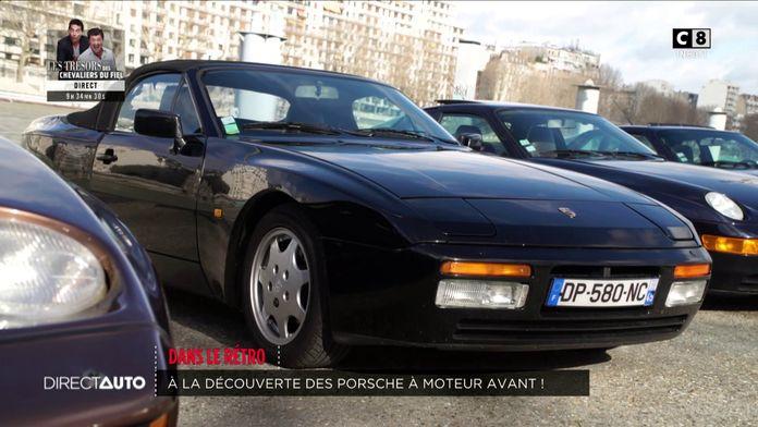 Saga : les Porsche à moteur avant !