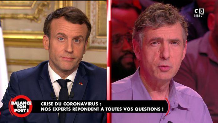 Eric Caumes, chef de service à la Pitié Salpêtrière revient sur les propos d'Emmanuel Macron