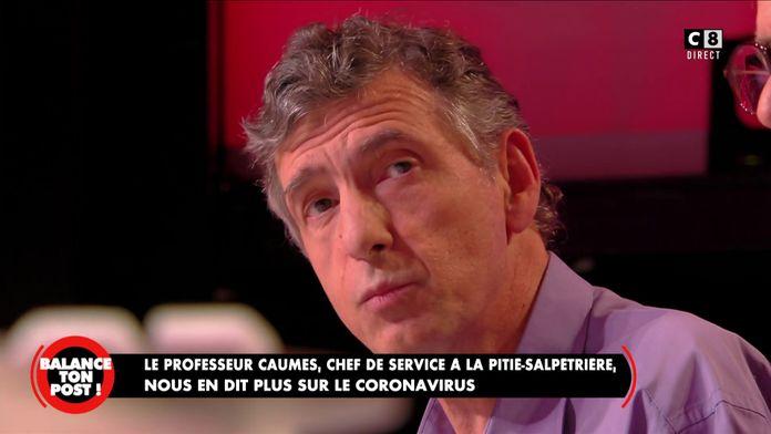"""Professeur Eric Caumes : """"L'épidémie va toucher 60 à 70% des Français"""""""