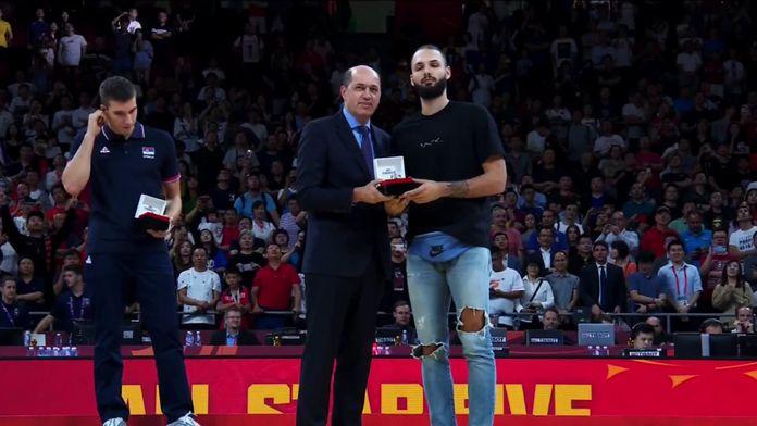 Les highlights d'Evan Fournier : Coupe du Monde FIBA 2019