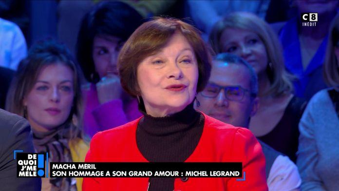 Macha Méril évoque son amour éternel pour Michel Legrand