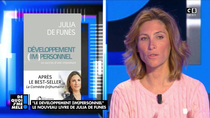 """Julia de Funès revient sur son nouveau livre : """"Le développement (im)personnel"""""""