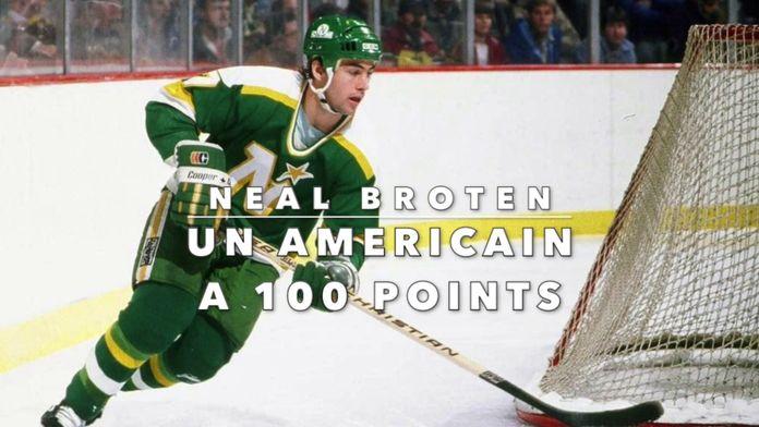 Neal Broten passe la barre des 100 points : Un 26 mars en NHL