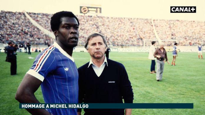 L'hommage de Marius Trésor à Michel Hidalgo : Football