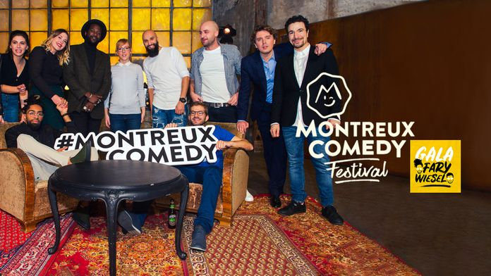 Montreux Comedy Festival 2017 Gala Fary - Wiesel