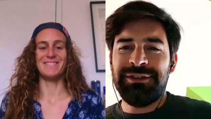 """Justine Dupont : """"On peut voir les vagues, mais on n'y va pas"""" : Interview"""