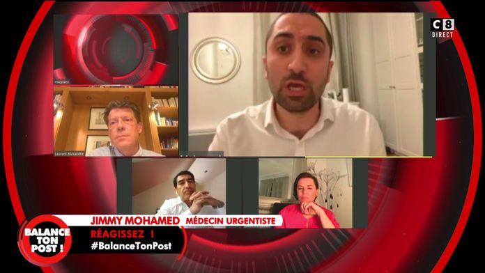 Jimmy Mohamed met en garde sur l'auto-médication avec la chloroquine