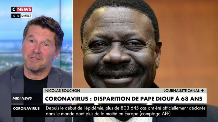 Disparition de Pape Diouf : Coronavirus : Football