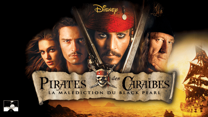 Pirates des Caraïbes : La Malédiction du Black Pearl