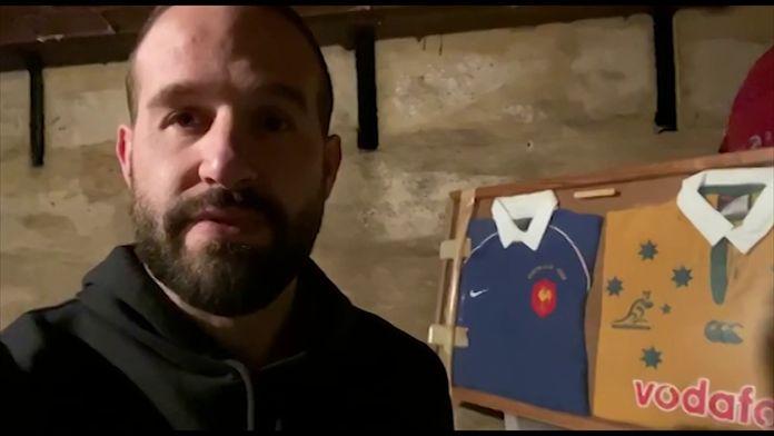 Frédéric Michalak évoque non sans émotion son échange de maillot avec George Gregan en 2002 : Un maillot, un souvenir... Avec Frédéric Michalak !