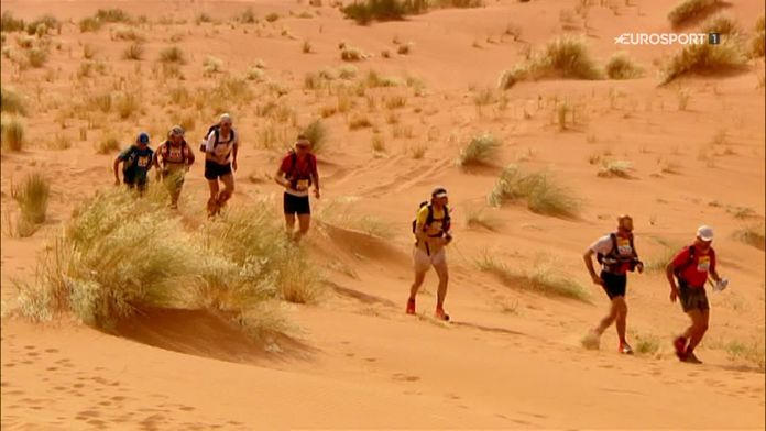 James Cracknell : Marathon des sables