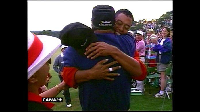 La première veste verte de Tiger Woods : Masters 1997