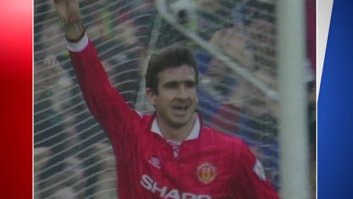 Les plus beaux buts du King Cantona dans le derby mancunien : Premier League